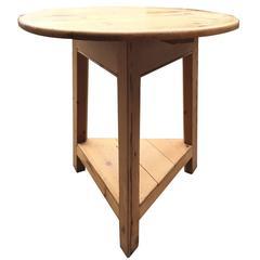 Vintage Cricket Pine Table
