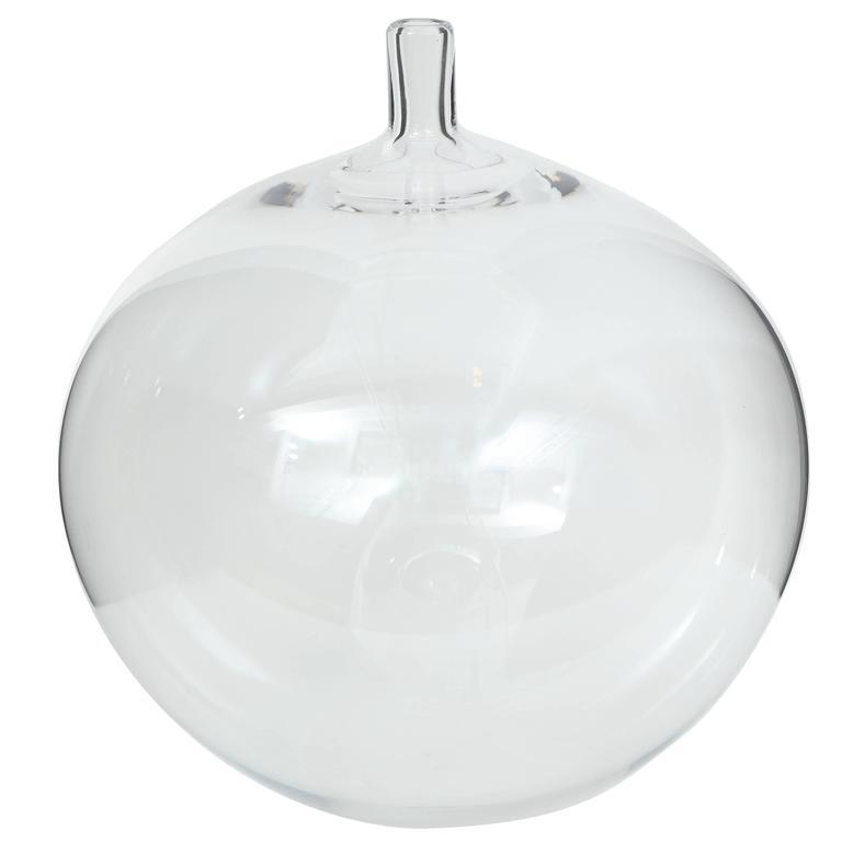 Orrefors Ingeborg Lundin Glass Apple Vase, 1957 For Sale