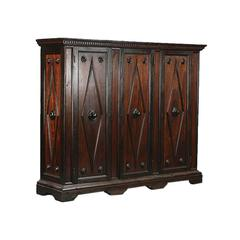 Turn of 19th Century Northern Italian Pine Cabinet