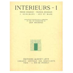 """INTERIEURS 1 - Chareau, Jourdain, Ruhlmann and Sue et Mare"" Book"