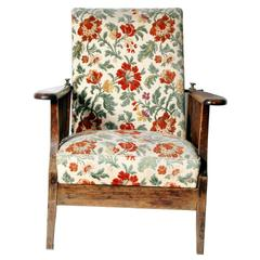 Vintage Reclining Plantation Chair