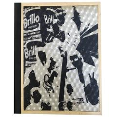 Rare Hardback Andy Warhol Index Book Brillo Hologram