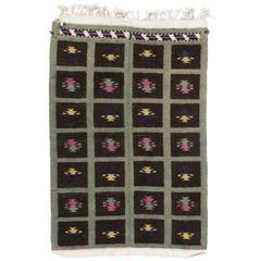 Cute Mid-Century Tulu Rug