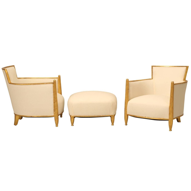 Bergere chair and ottoman - Bergere Chair And Ottoman 43