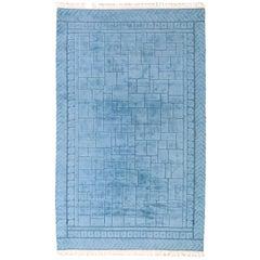 Mid-20th Century Swedish Pile Carpet by Ingrid Hellman - Knafve