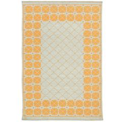Mid-20th Century Swedish Double-Sided Flat-Weave Carpet