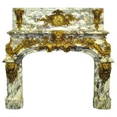 Salon De Hercules Fireplace, Palace of Versailles