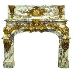 Kamin aus dem Salon d'Hercule im Schloss von Versailles