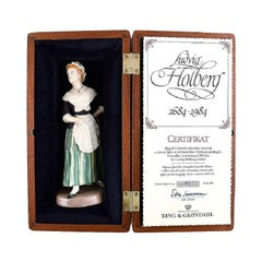 """Bing and Grondahl Porcelain Figure """"Pernille"""", Holberg Collection"""