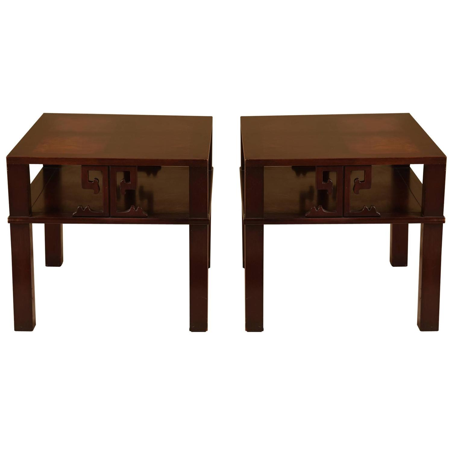 Wood Coffee Table Together With Heritage Henredon Mahogany End Tables. Full resolution‎  file, nominally Width 1500 Height 1500 pixels, file with #33190F.
