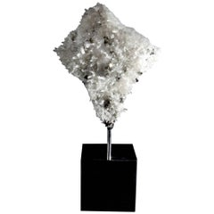 Mounted Quartz and Pyrite Formation
