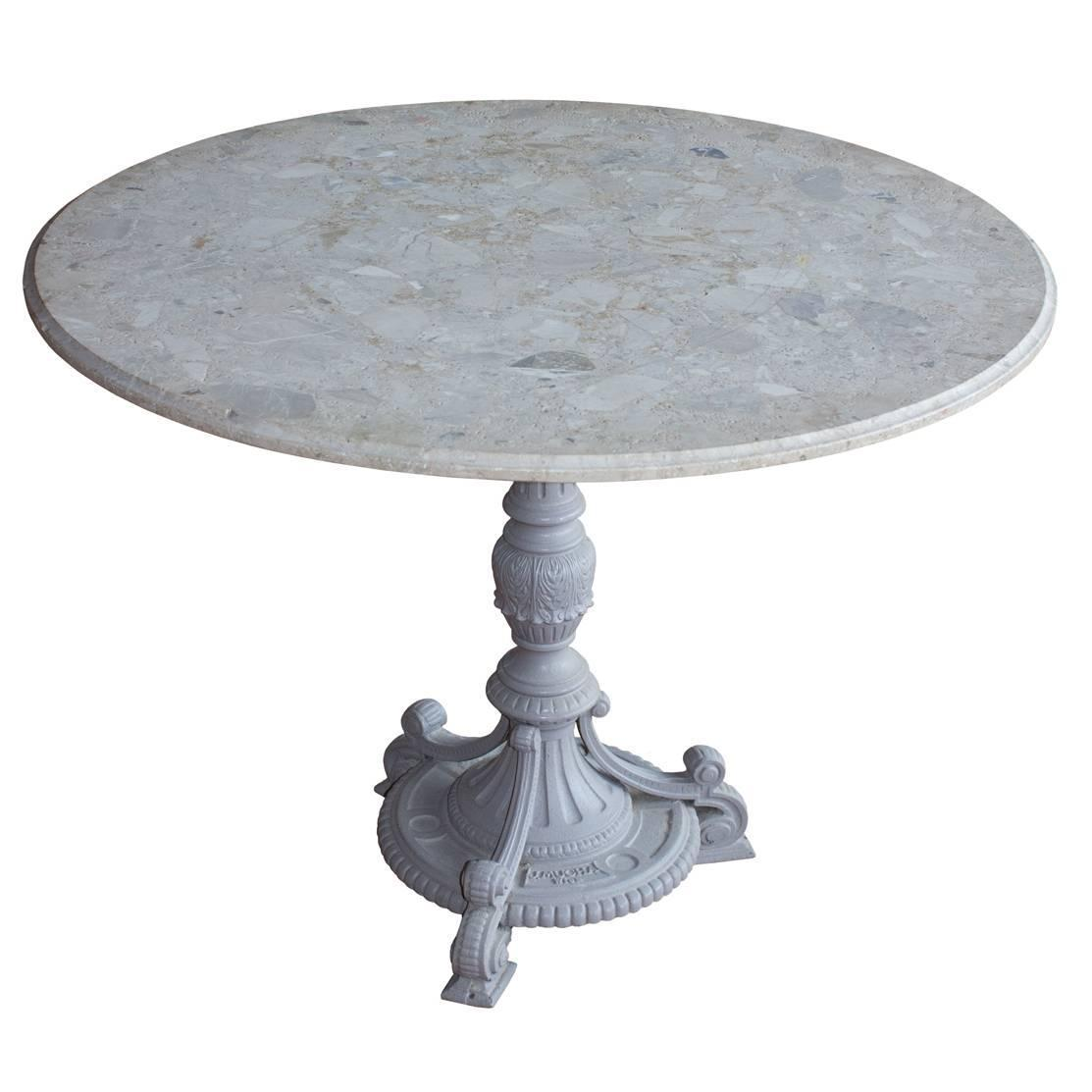 Antique Cast Iron Conservatory Table At 1stdibs