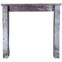 19th Century Country Antique Fireplace Mantel