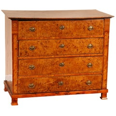 Fine Antique Burl Chest of Drawers