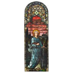 Fantastic Art Glass Scenic Window