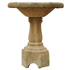 Late 18th Century Sandstone Fountain