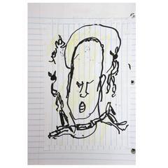 Outsider Folk Art Purvis Young Sketchbook