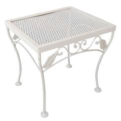 Woodard Mesh Steel Outdoor/Patio Side Table