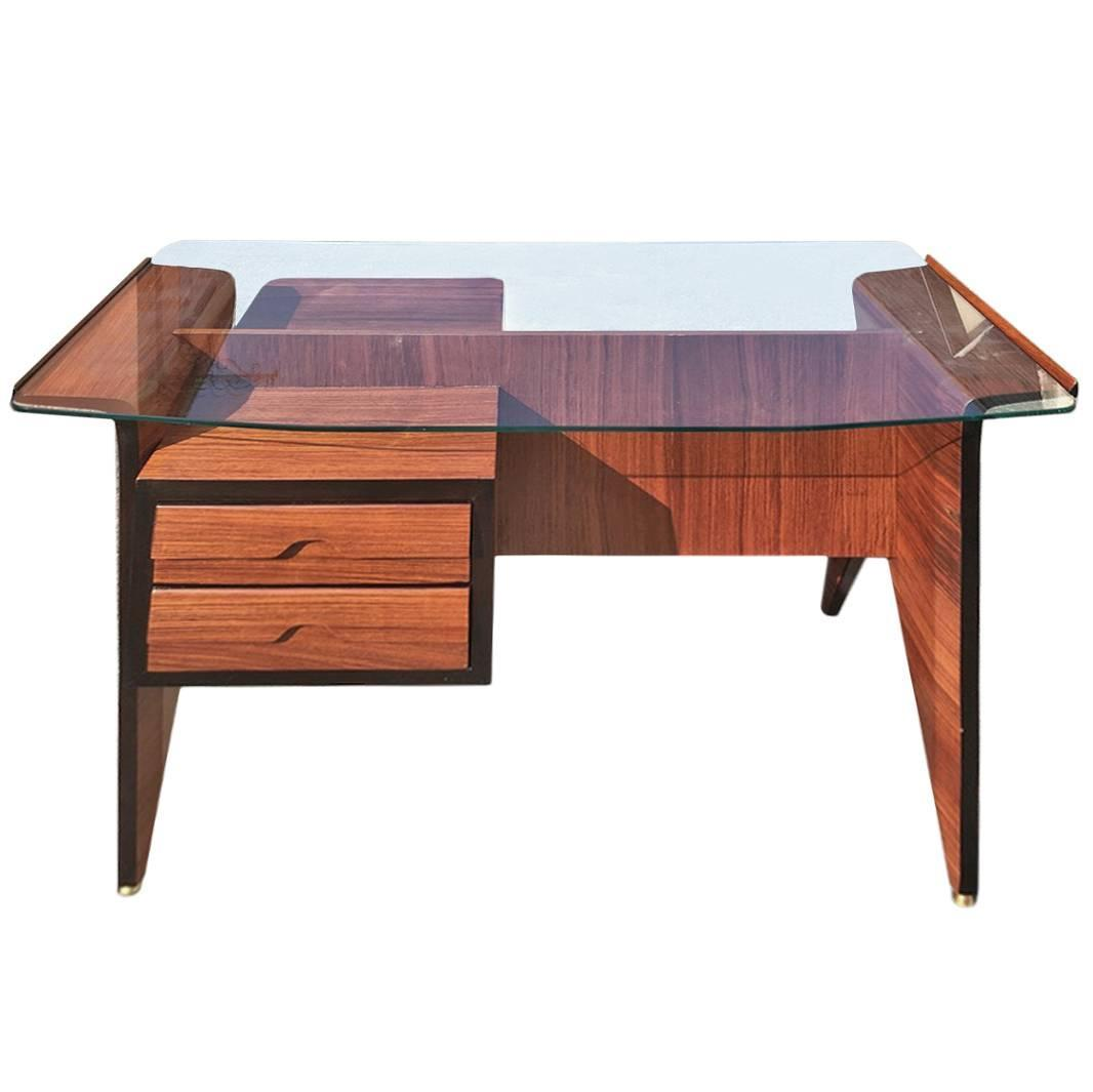 beautiful desk attributed to osvaldo borsani 1940 for