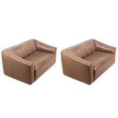 Pair of DS47 Sofas by De Sede
