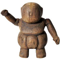 Southeast Asian Wooden Papier Mâché Figurine Mold