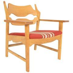 Henning Kjaernulf Oak Lounge Chair