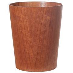 1960s Teak Wastepaper Basket by Martin Åberg