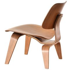 Eames LCW Walnut Lounge Chair for Herman Miller