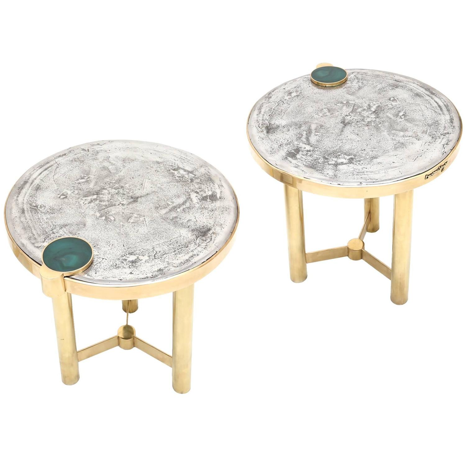 sc 1 st  1stDibs & Moonraker Side Table Set by Dessauvages at 1stdibs