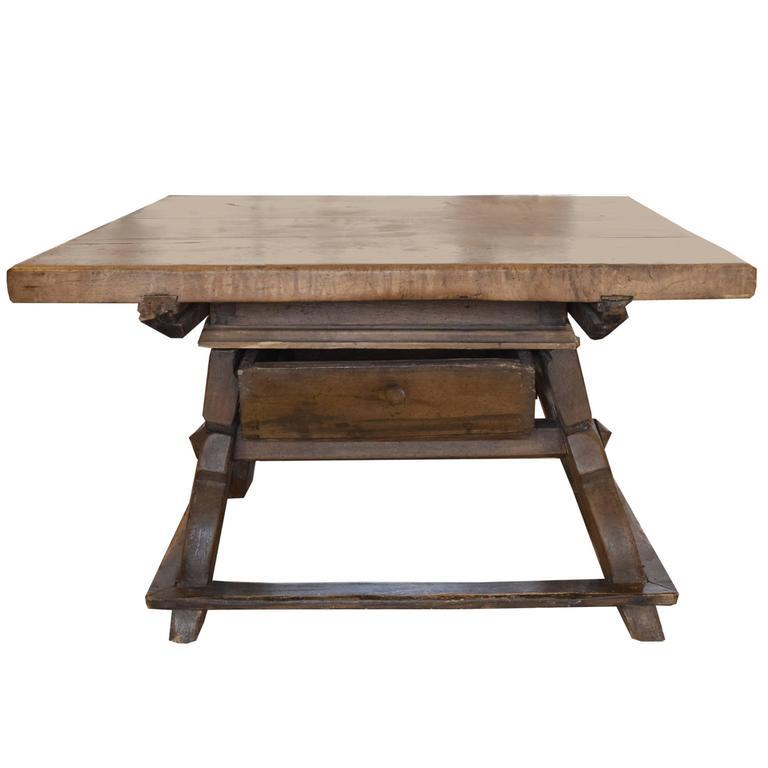 Rare Bavarian Jogl Table