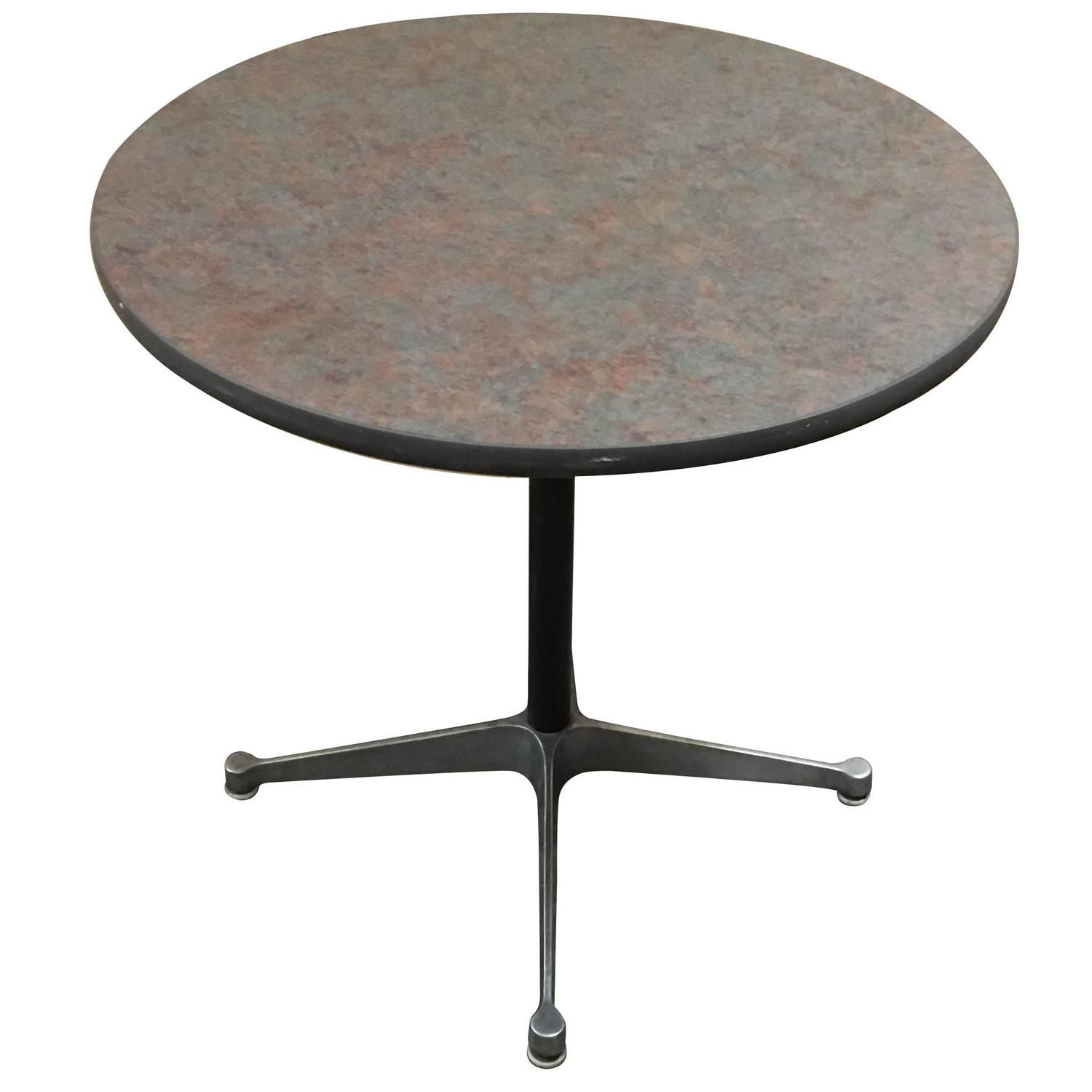Rare size herman miller eames dining table for sale at 1stdibs - Eames table herman miller ...