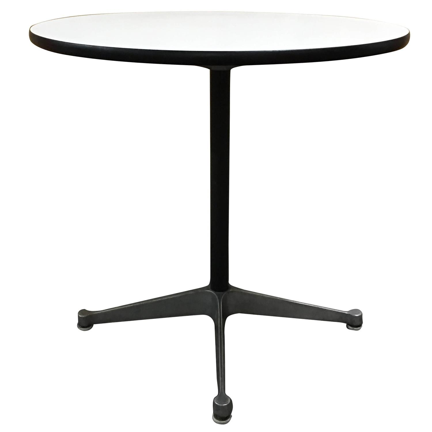 herman miller eames rare dining table for sale at 1stdibs. Black Bedroom Furniture Sets. Home Design Ideas