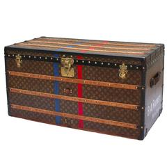 1930's Louis Vuitton Courier Trunk