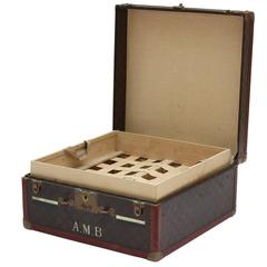 1930s Louis Vuitton Small Courier Trunk
