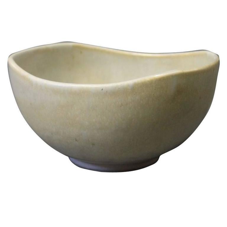 Small Saxbo Bowl Designed by Natalia Krebs, No. 188, 1940s