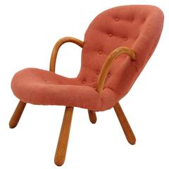 Clam Lounge Chair by Philip Arctander