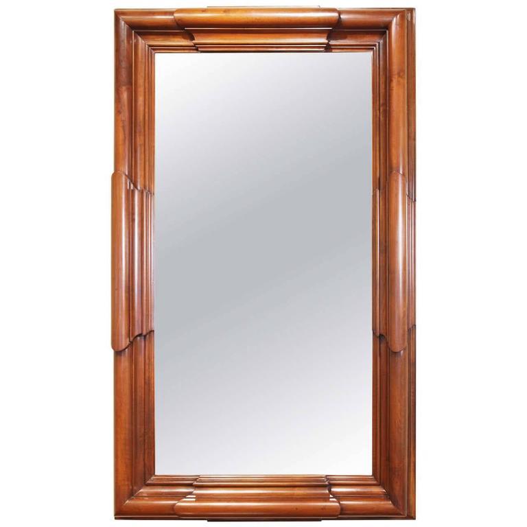 Italian Walnut Mirror