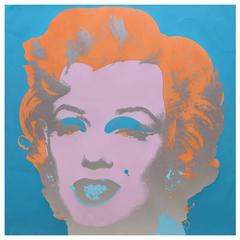 Andy Warhol, Marilyn Monroe Screen Print, New York Factory Additions, 1967