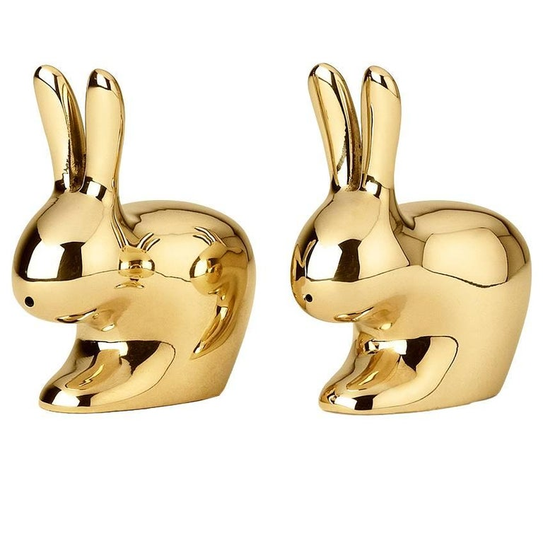 Rabbit Salt and Pepper Designed by Stefano Giovannoni for Ghidini, 1961 For Sale
