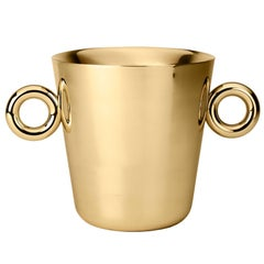 "Double ""O"" Ice Bucket Designed by Richard Hutten for Ghidini, 1961"