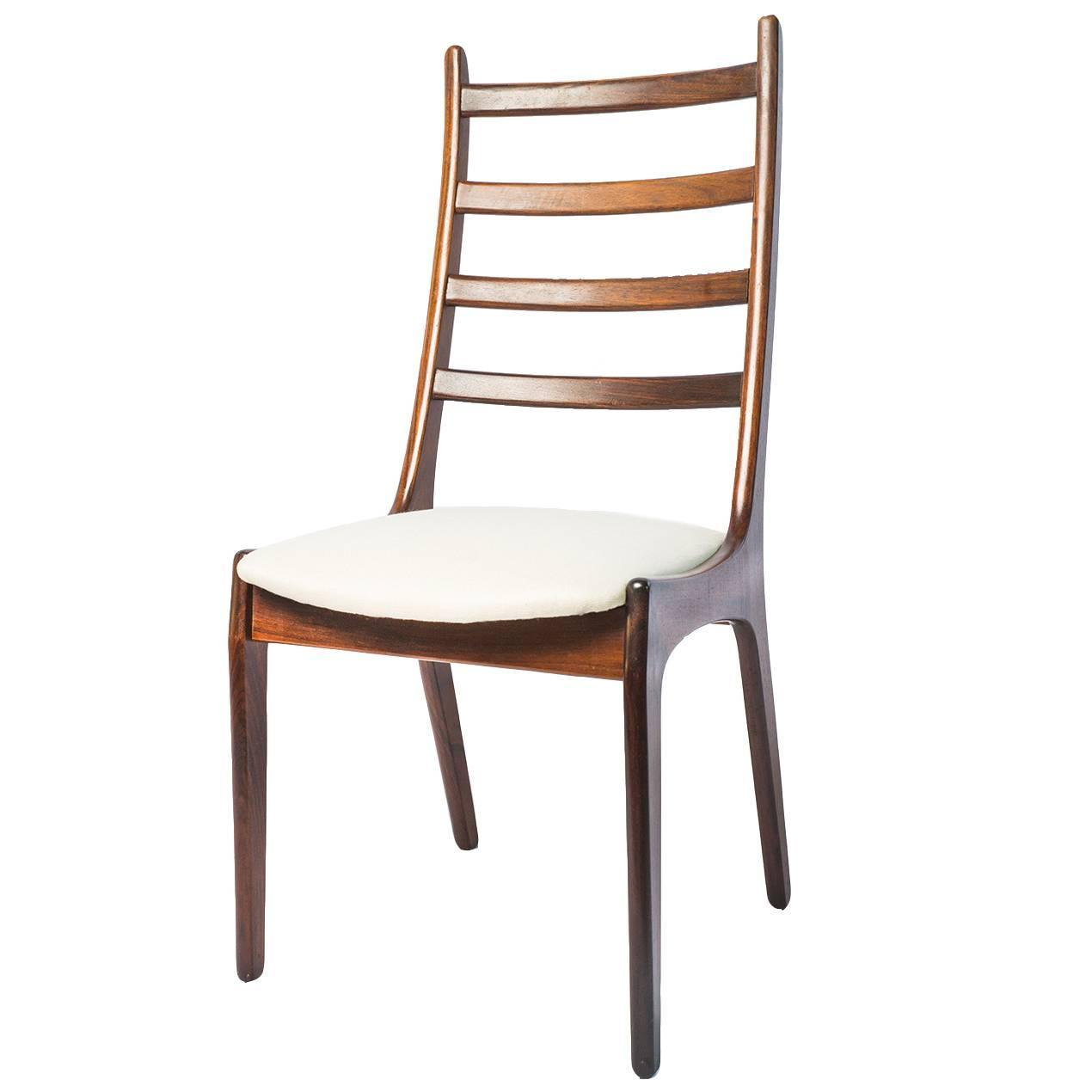 set of four mid century ladder back dining chairs for sale at 1stdibs