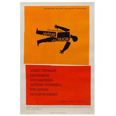 """Anatomy of a Murder"" Film Poster, Saul Bass, 1959"