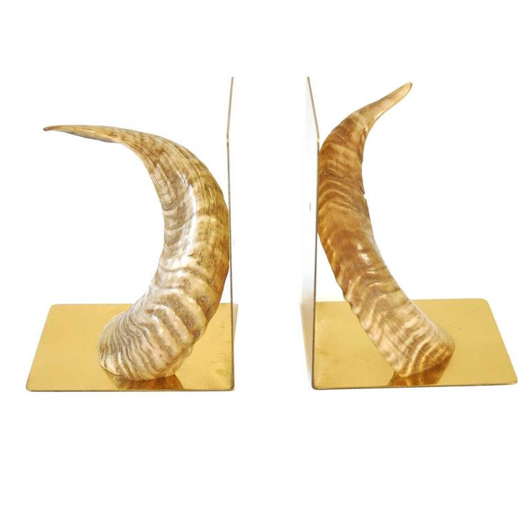 Pair of Bookends by Carl Auböck Werkstätte, Vienna, 1950s 1