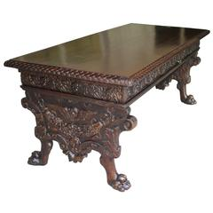 Italian Renaissance Library Table