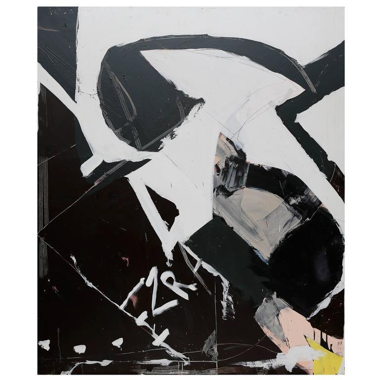 Ezra Cohen Acrylic on Canvas, The First, USA, 2015 1
