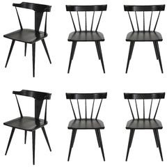 Paul McCobb Planner Group Set of Six Dining Chairs