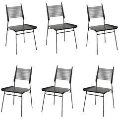 Paul McCobb Set of Six Shovel Chairs