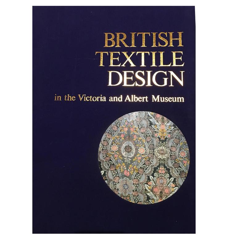 Set of Three Folio Books on Textile Design, 1980