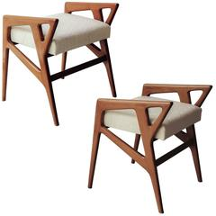 Gio Ponti Pair of Stools