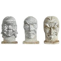 Mid-Century Halloween Mask Molds
